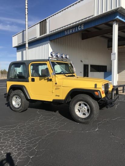 2001 Jeep Sport  4x4