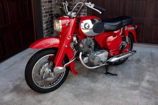 1967 Honda Dream