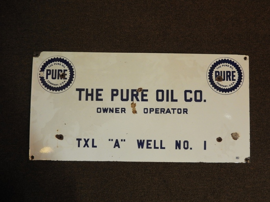 """Pure Owner Operator Lease sign, SSP 32""""Wx18""""T"""