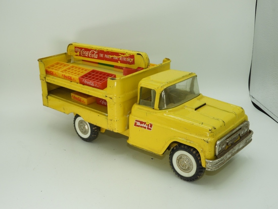 """Buddy L Coca-Cola delivery truck, 15""""L"""
