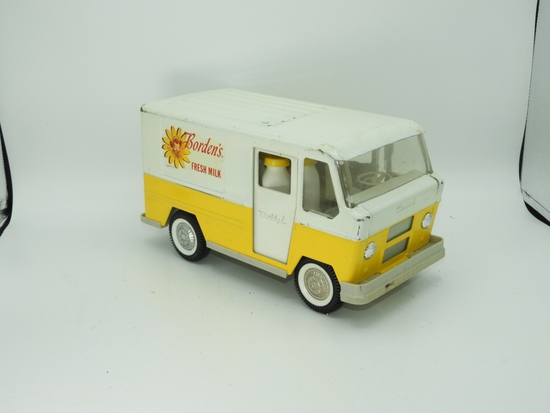 """Buddy L Borden's delivery van, 11""""L w/ butterfly d"""