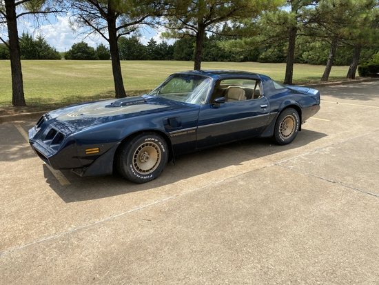 1981 Pontiac Trans Am   NO RESERVE