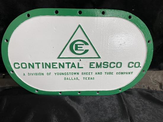 Continental Emsco Co. cast, 25x15
