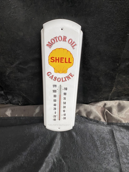 Shell Motoroil Gasoline SSP thermometer 17x5