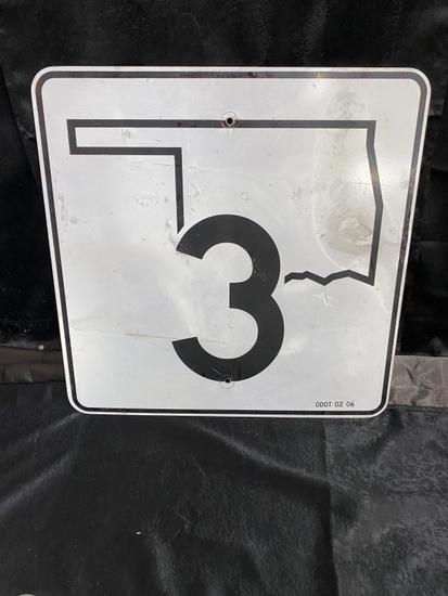 Okla. Hwy 3, SST 24x24