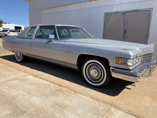 1976 Cadillac Coupe Deville  NO RESERVE