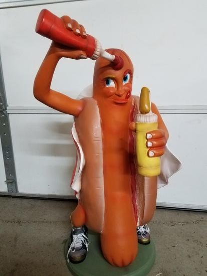 Hot Dog statue, 24in
