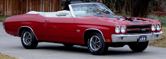 1970 Chevy Chevelle SS Convertible