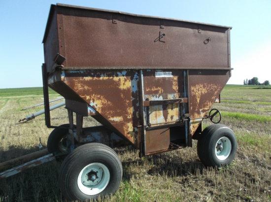 DMI Side dump wagon