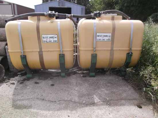 Bestway 200 gallon Saddle Tanks