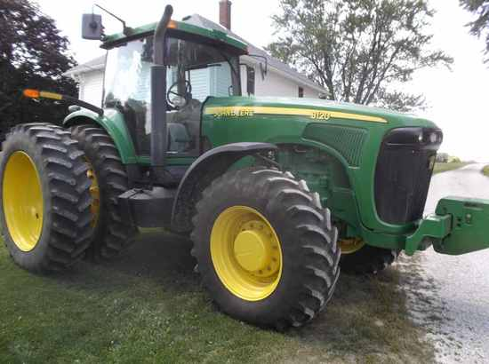 JD 8120 Tractor