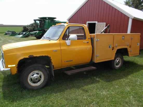 1989 Chevy Cheyenne 3500 Service Truck