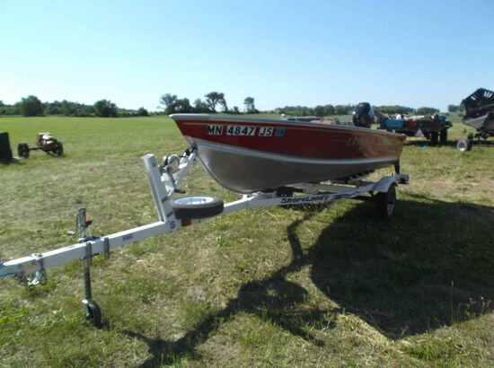 2003 Lund Boat