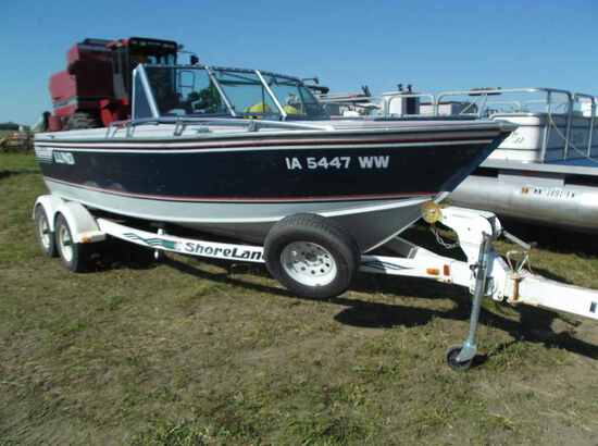 1989 Lund 1850 Tyee Boat