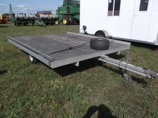 Floe-Challenger Snowmobile Trailer