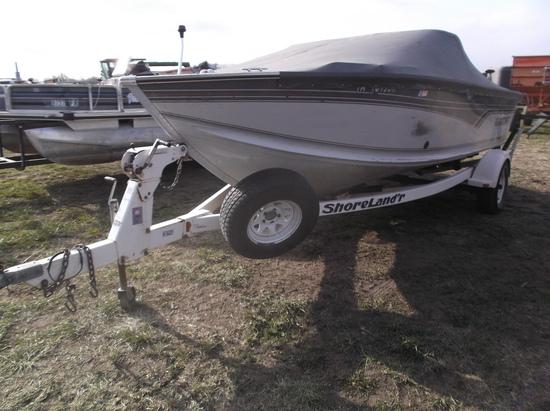 1995 Alumacraft Trophy 190 Boat