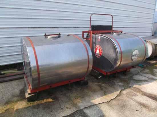 Chem Farm Saddle Tanks