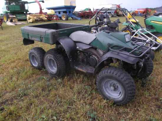 Polaris Six Wheel Atv
