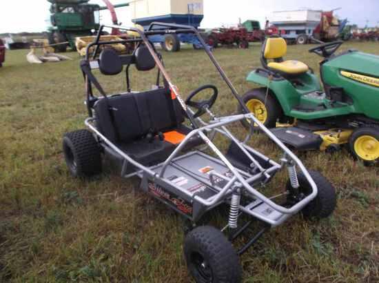 Silver Fox Go-Cart