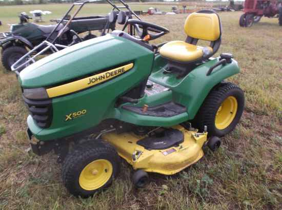 John Deere X500 Lawn Mower