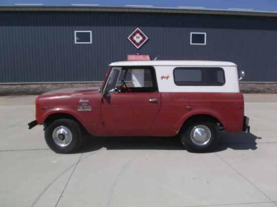 1963 International GW7000 Scout