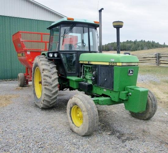John Deere 2955 2x4 A/C Cab Tractor