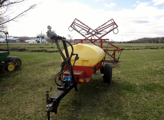Hardi 300 Gallon Field Sprayer