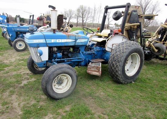 1980's Ford 3910 2WD Diesel Tractor