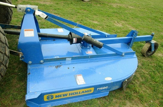 2017 New Holland 716GC Rotary Cutter