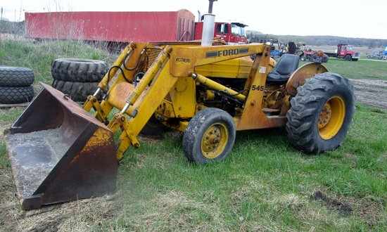 1977 Ford 545 2WD Industrial Loader Tractor