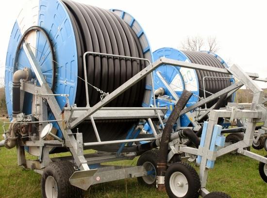Ocmis VR5 Irrigation Reel & Cart