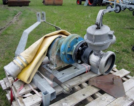 "5"" Wade Rain Pumps with 20' foot valves"