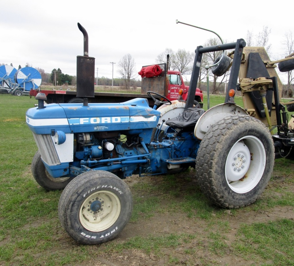 1980 S Ford 3910 2wd Diesel Tractor Farm Machinery
