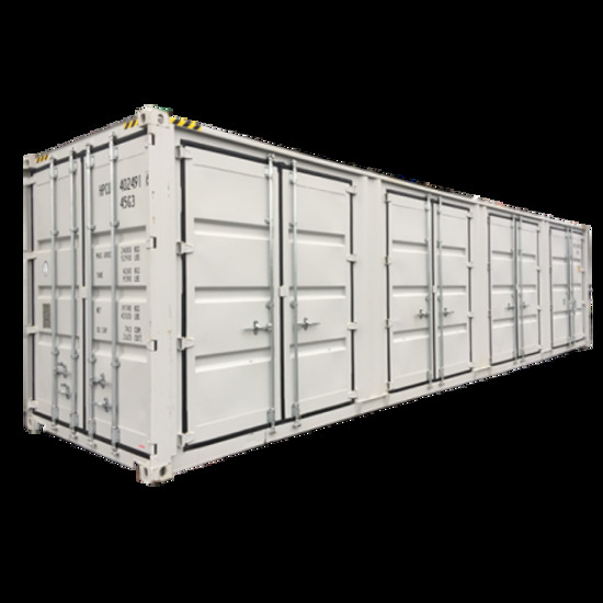 40' High Cube Four Multi Door Container - New!
