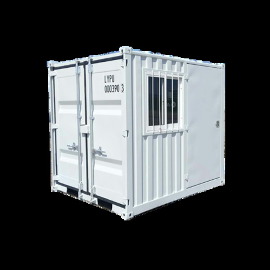 9' Storage Container with Door and Window - New!