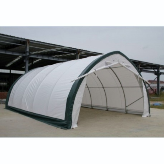 Golden Mount 20' x 30' x 12' Peak Roof Storage Shelter - New!