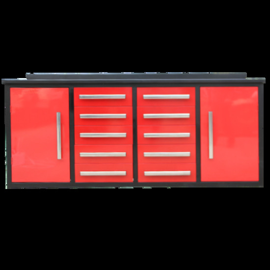 Steelman 7' Work Bench with 10 Drawers - New!
