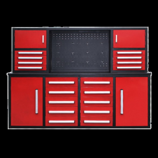 Steelman 7' Work Bench with 18 Drawers - New!