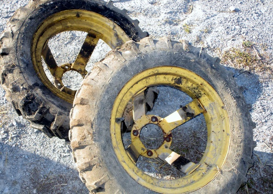 Wheels for New Holland 166 &/or 144 Hay Inverter!