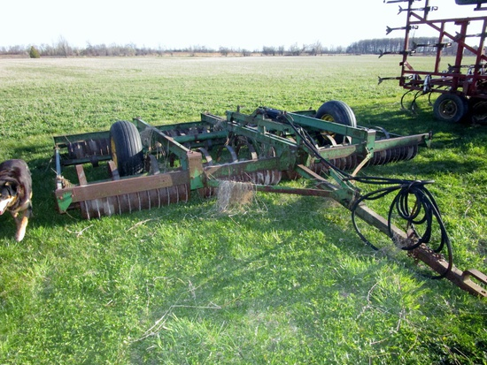15' JD 950 Roller Harrow!