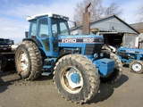 1993 Ford 8630 Power Shift 4x4 a/c Cab Tractor!