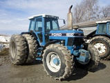 1992 Ford 8630 Power Shift 4x4 a/c Cab Tractor!