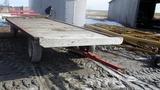 16' Flat Top Wooden Hay Wagon!