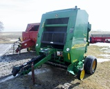 457 JD Silage Special Round Baler with Mega Wide Pick Up!