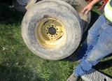"31X13.5 15"" Flotation Tire on Rim!"