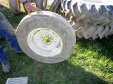 7.5X18 Front Tractor Tires with Rims!