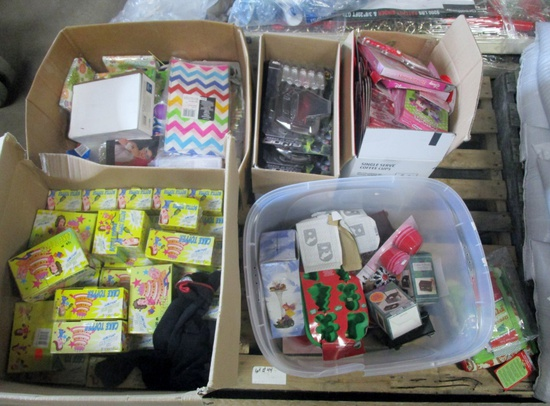 Assorted Party Supplies - New!