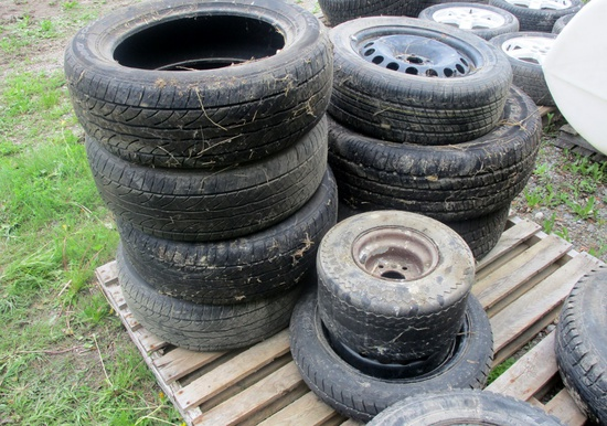 Assorted Tires and Rims!