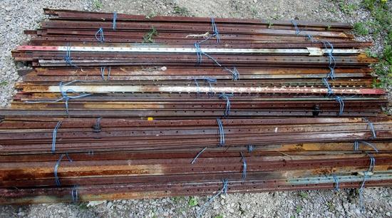 Bundles of 10 x 7' Steel Posts!