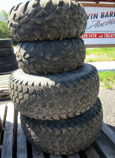 Kubota Tires with Rims!